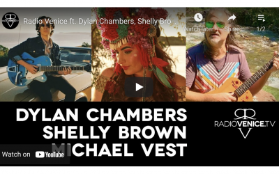 Radio Venice Live with Dylan Chambers, Shelly Brown and Michael Vest Sept 26 2021